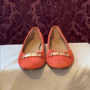 Talbots Suede Flats 7.5